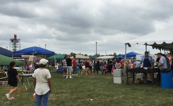 The annual Chicago Fraternal Order of Police summer picnic for city cops and their families.