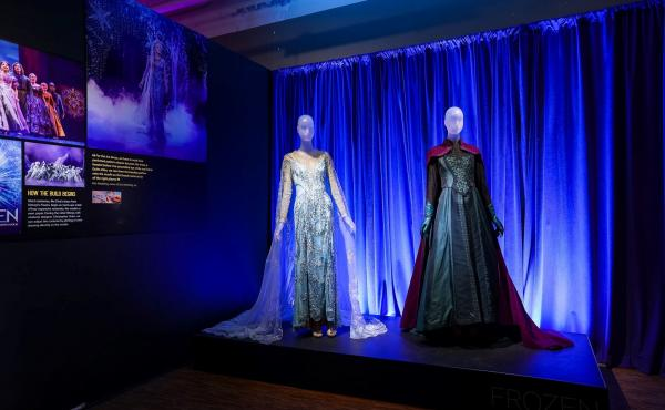 Can't Let It Go: Two looks from Disney's Frozen, by Christopher Oram, including Elsa's Ice Dress