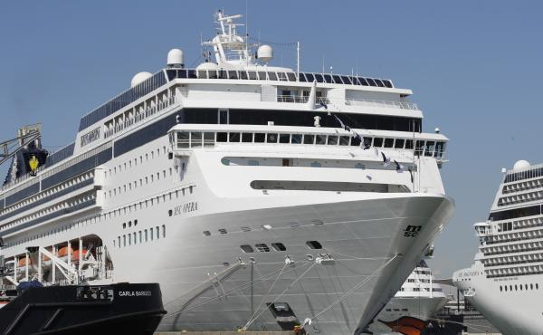 The MSC Opera cruise ship rammed into a dock and a tourist river boat on a busy Venice canal. An investigation is underway into the cause of the crash.