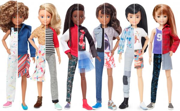 Mattel's new Creatable World dolls.