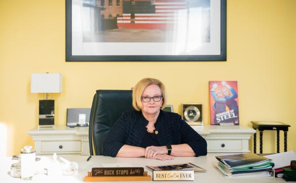 """Sen. Claire McCaskill of Missouri characterized her 2018 electoral defeat as a """"failure"""" of the Democratic Party """"to gain enough trust with rural Americans."""""""