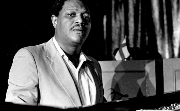 McCoy Tyner, photographed in 1985.