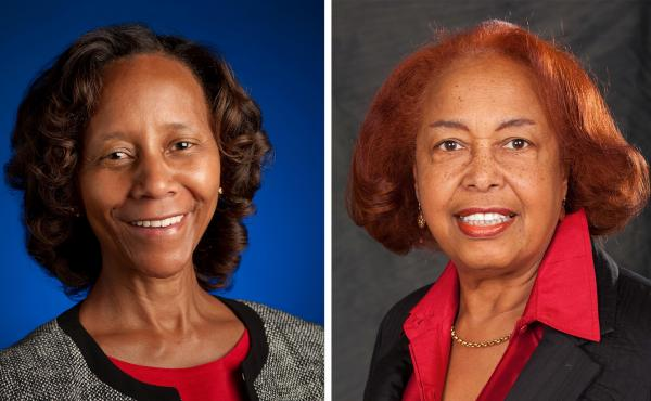 Engineer Marian Croak (left) and ophthalmologist Patricia Bath are the first Black women to be inducted into the National Inventors Hall of Fame in its nearly 50-year history.