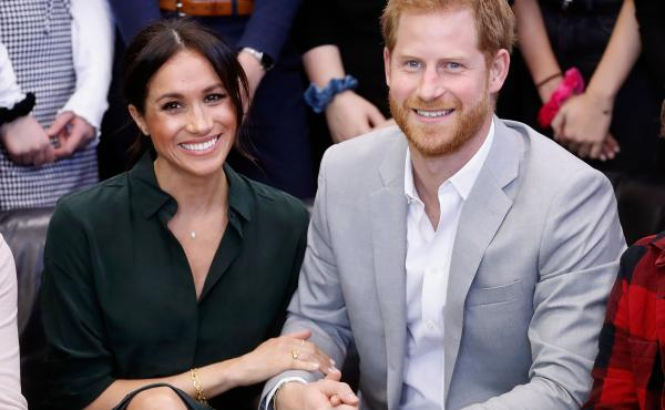 Meghan Markle and Prince Harry are expecting their first child in the spring. The Duchess and Duke of Sussex are seen here on Oct. 3.