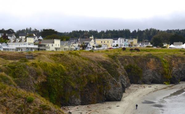 Mendocino, Calif., lures vacationing tourists and retirees. But the lone hospital on this remote stretch of coast, in nearby Fort Bragg, is struggling financially.