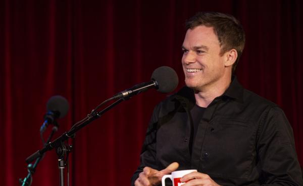 Michael C. Hall appears on Ask Me Another at the Bell House in Brooklyn, New York.