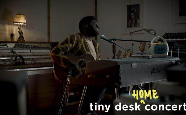 Michael Kiwanuka plays a Tiny Desk (Home) Concert.