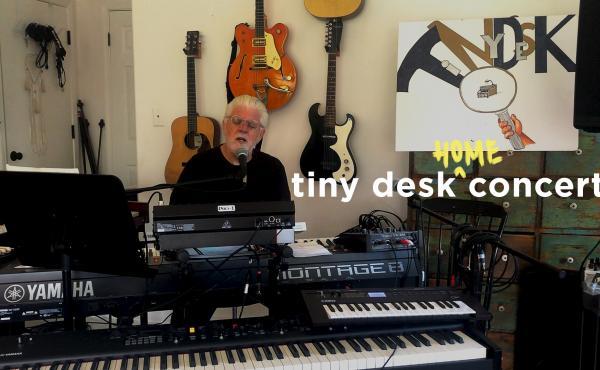 Michael McDonald plays a Tiny Desk Home concert.