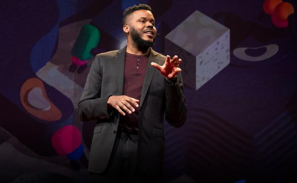 Michael Tubbs on the TED Stage.