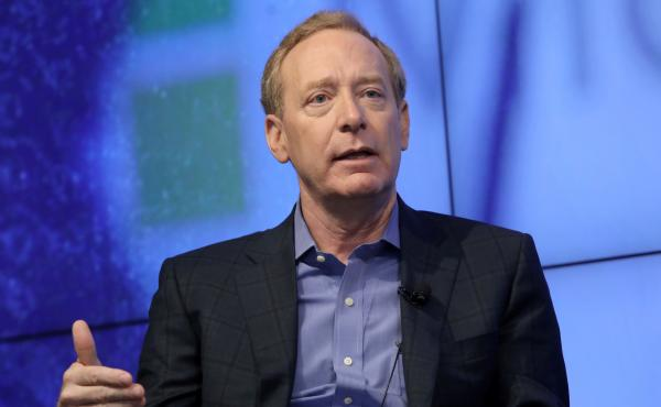 "Microsoft President Brad Smith says governments need to set rules for big technology companies. ""Almost no technology has gone so entirely unregulated, for so long, as digital technology,"" he says."