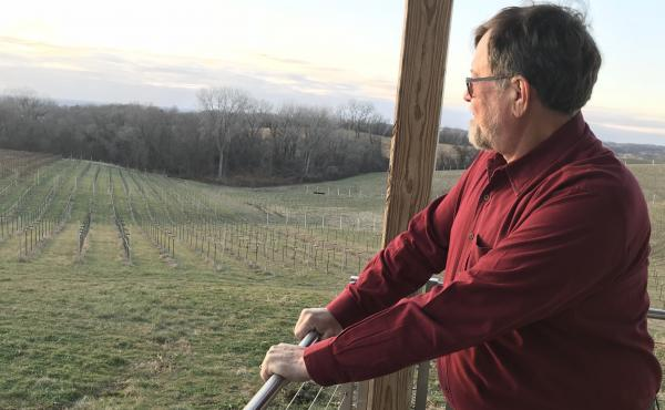 Jerry Eisterhold runs Vox Vineyards in Weston, Mo. He's working to save long-lost American wine grape varietals.