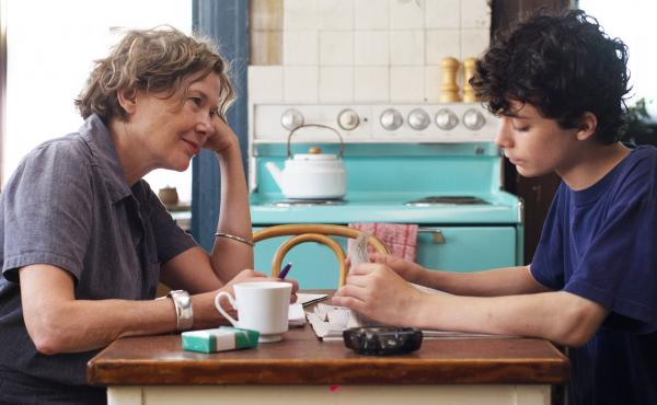 Annette Bening and Lucas Jade Zumann play a mother and son in Mike Mills' film, 20th Century Women. Mills says the film was inspired by his own life.