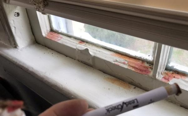Swab tests at a military residence in Fort Benning, Ga., reveal the presence of lead.
