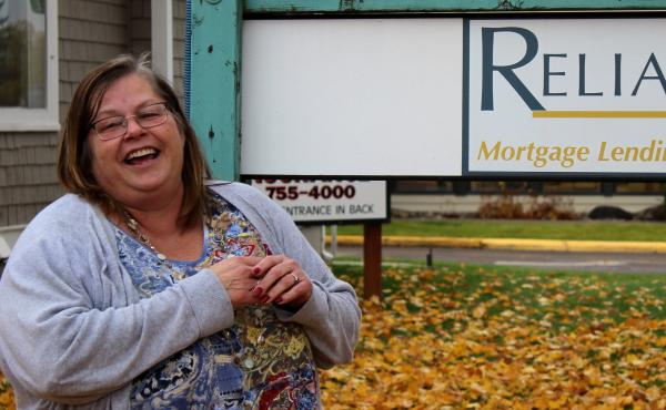Ruth McCafferty, who works in Kalispell, Mont., credits the training she got through the state's Medicaid expansion with helping her get a good job.