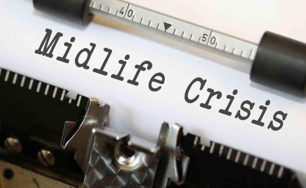 Midlife crisis.