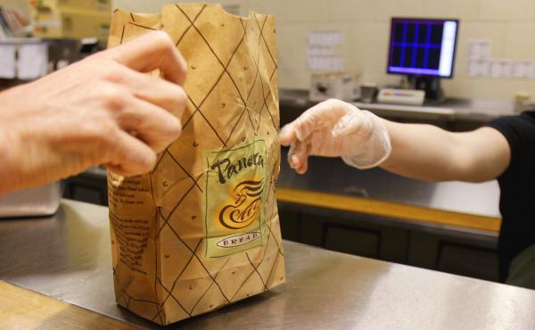 Panera's CEO has challenged other fast-food CEOs to eat their kids' menus for a week. He's trying to start a conversation about the nutrition in these meals.