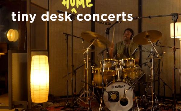 Moses Boyd performs a Tiny Desk (home) concert.
