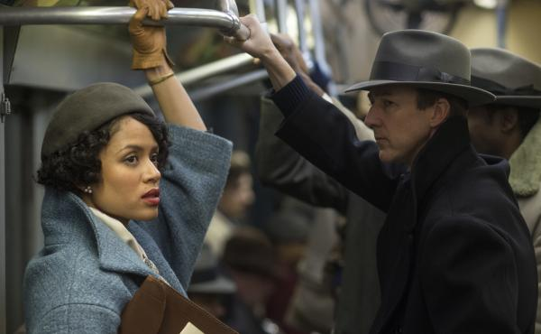 Motherless Brooklyn, starring Gugu Mbatha-Raw (left) and Edward Norton (right), follows a detective who get caught up investigating corruption in New York City.