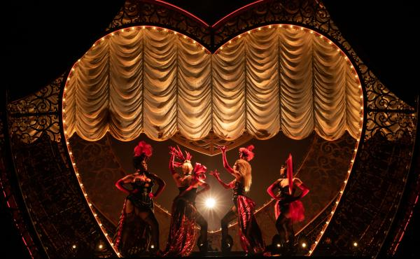 The new musical adaptation of Moulin Rouge! features 71 popular songs, which all had to be licensed and stitched together into the story.