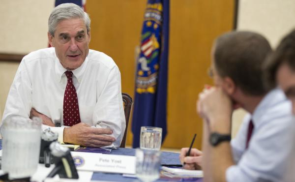 Robert Mueller, the Justice Department's pick as special counsel in the investigation into Russia's role in the 2016 elections, has been cleared of any conflicts of interests related to the work of his former law firm.