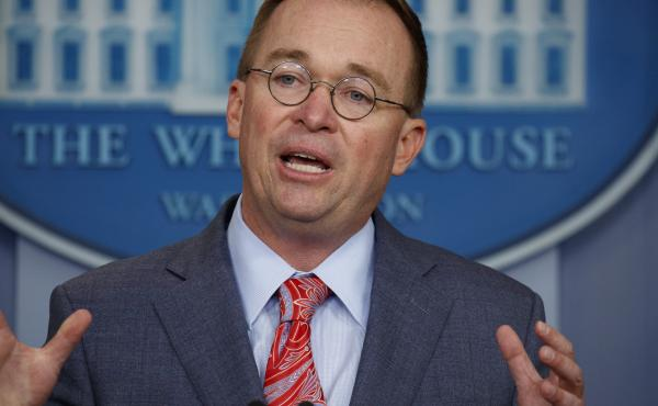 Mick Mulvaney, the acting White House chief of staff, said Sunday that his words were taken out of context when he acknowledged on Thursday that military aid to Ukraine was being tied to President Trump seeking a political favor.