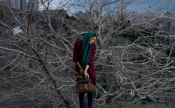 Somayeh, from Blank Pages of an Iranian Photo Album.