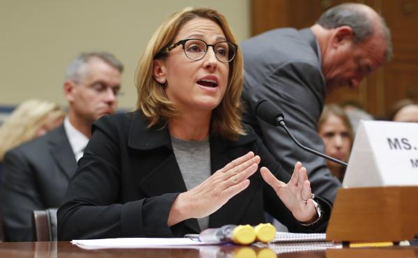 Mylan CEO Heather Bresch defended pricing for the company's EpiPen on Capitol Hill in September.