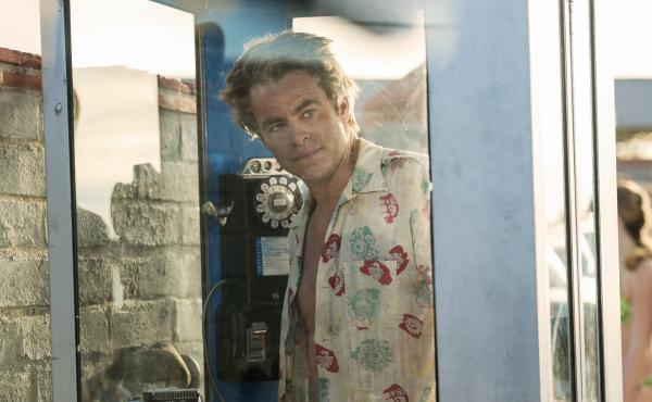 Chris Pine plays a washed-up newspaper reporter in 1965 Los Angeles in the TNT miniseries I Am the Night.