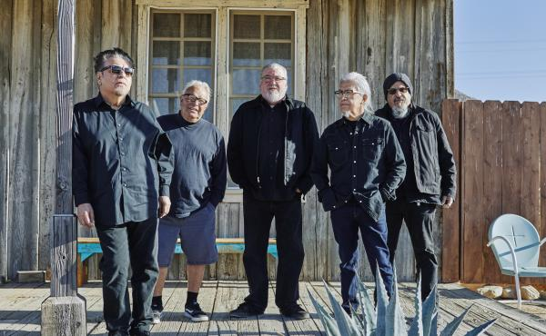 The Mexican-American band Los Lobos, newly named as National Heritage Fellows.