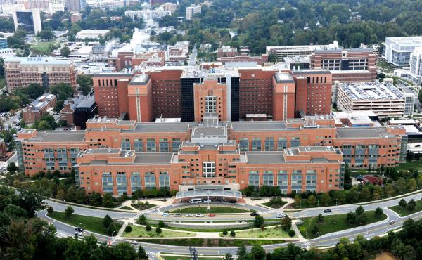 The Clinical Center on the campus of the National Institutes of Health, in Bethesda, Md., is an internationally renowned hospital where patients are also research subjects.