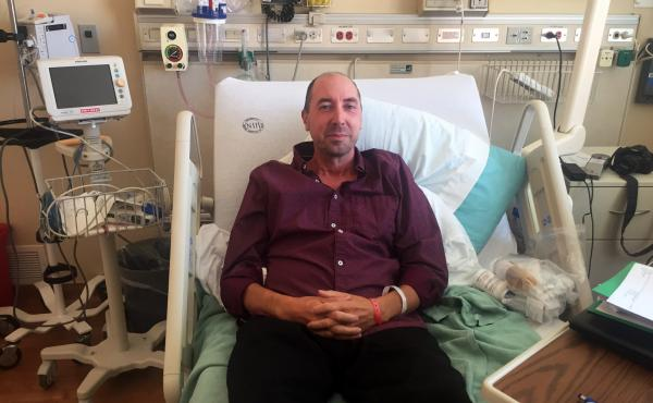 Brian Vastag suffers from myalgic encephalomyelitis/chronic fatigue syndrome, or ME/CFS for short. He is part of an NIH study of the disease, which is commonly called chronic fatigue syndrome.