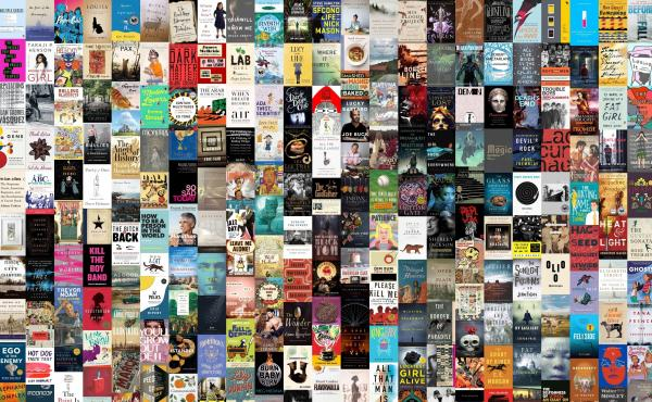 A collection of book covers from our 2016 book concierge