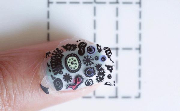 science nail art