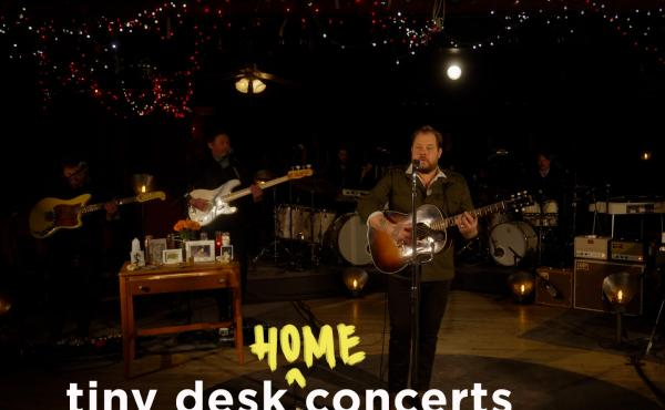 Nathaniel Rateliff performs a Tiny Desk (home) concert.