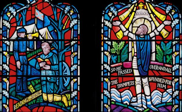 The Washington National Cathedral decided to remove the Confederate battle flag from its windows last year. Its leaders decided this week to take down stained-glass windows portraying Robert E. Lee and Stonewall Jackson.