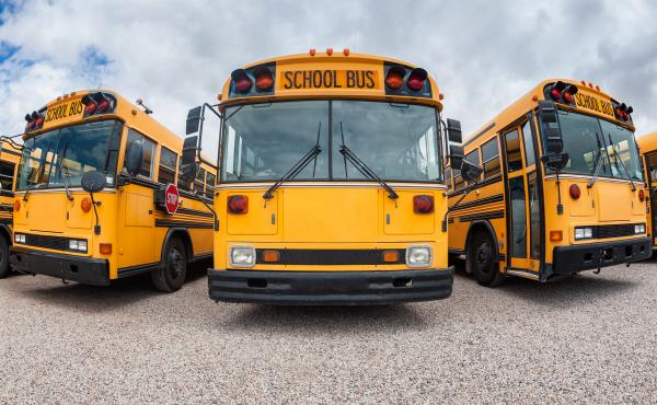 """In a new nationwide survey, half of student-transportation coordinators described school bus driver shortages as either """"severe"""" or """"desperate."""""""