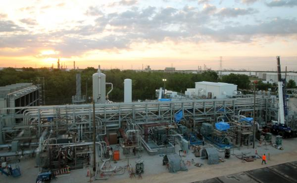 NET Power has built carbon capture technology into its power plant outside Houston, which will generate electricity by burning natural gas. The demonstration project should be fully operational later this year, according to NET Power.