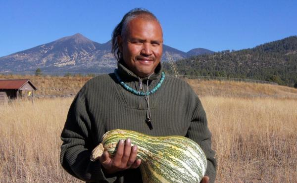 Since COVID-19 has much of the Navajo Nation stuck at home, farmer Tyrone Thompson says it's the perfect time for them to return to their agricultural roots.