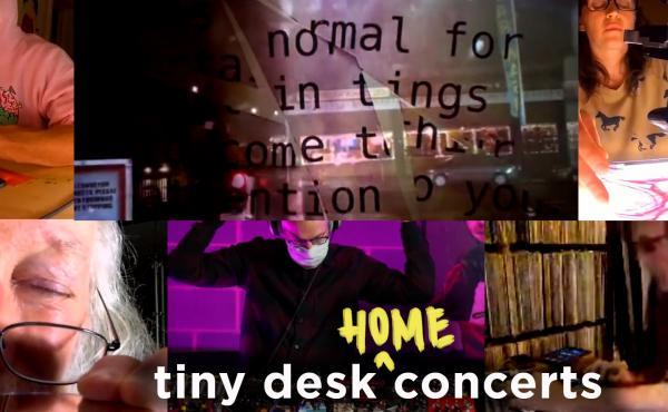 Negativland performs a Tiny Desk (home) concert.