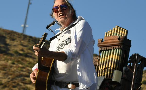 Neil Young was among a number of artists who objected to Donald Trump using their songs during the 2016 campaign.