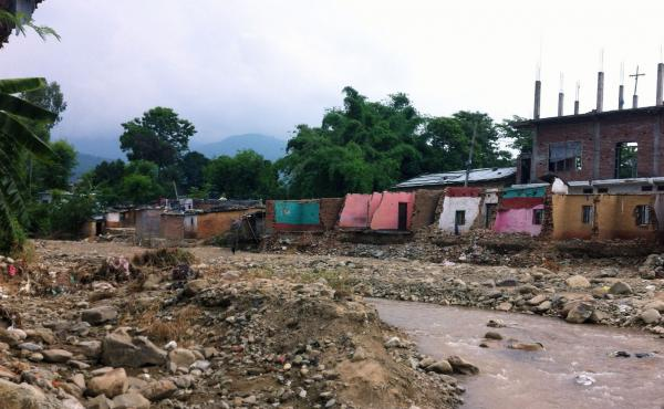 The heaviest rainfall occurred in the Surkhet District in the western part of Nepal.