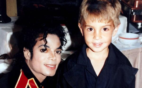Michael Jackson and Wade Robson in 1987.