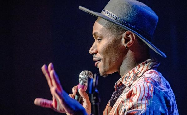 Dewayne Perkins performed in one of the New Faces showcases at Just For Laughs.