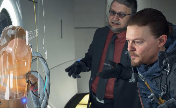 Norman Reedus and Guillermo Del Toro both make appearances in Death Stranding, the new game from famed game designer and writer Hideo Kojima.