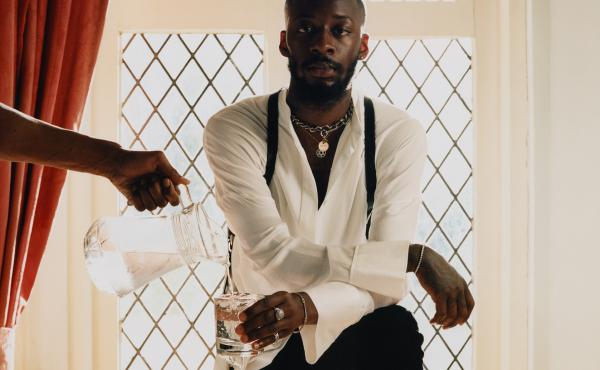 The rapper Goldlink. His new album, Diaspora, is on our shortlist for the best new releases of the week.