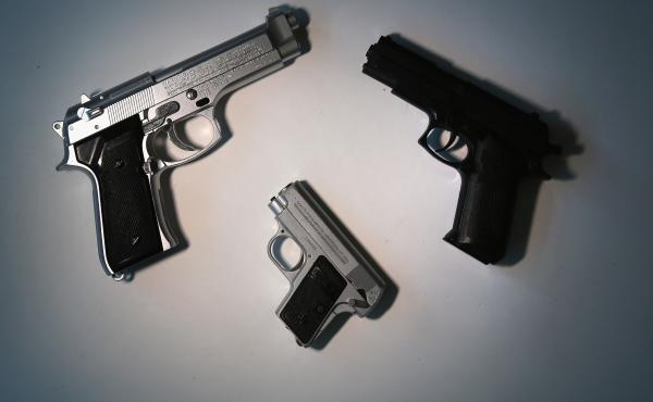 It is illegal to sell toy guns in New York that look real.