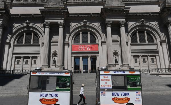 New York City's museums and cultural institutions were temporarily shuttered by the pandemic and kept closed even as the state entered Phase 4 in July.