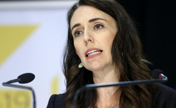 New Zealand Prime Minister Jacinda Ardern, seen here in May, said Tuesday that the country had four new cases of COVID-19. The government moved quickly to contain the outbreak and increased alert levels throughout the country.