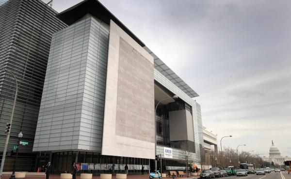 The Newseum building in 2008, the year it moved into its Washington, D.C., home. On Friday, Johns Hopkins University announced that it is acquiring the building for $372.5 million.