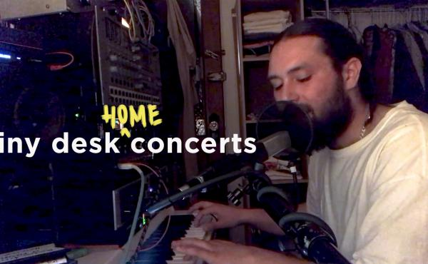 Nick Hakim plays a Tiny Desk (Home) concert.